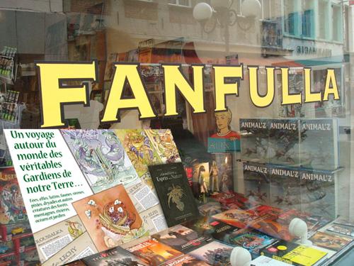 dédicace libraire fanfulla